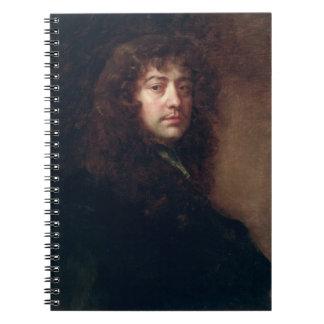 Autoportrait, 1665-70 (huile sur la toile) carnets