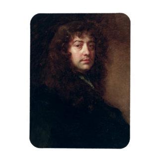Autoportrait, 1665-70 (huile sur la toile) magnet