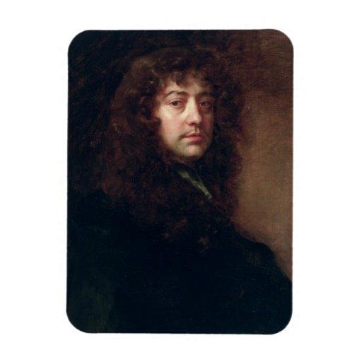 Autoportrait, 1665-70 (huile sur la toile) magnet en vinyle
