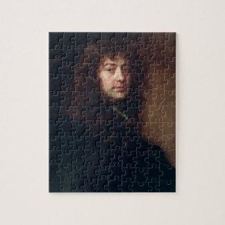 Autoportrait, 1665-70 (huile sur la toile) puzzle