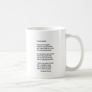 Autopsicografia - Fernando Pessoa Coffee Mug