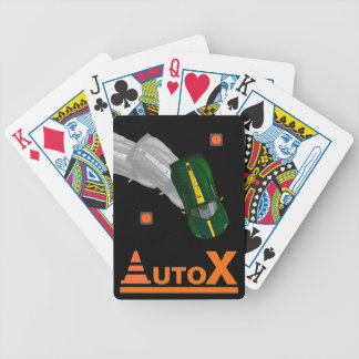 AUTOX-Green Bicycle Playing Cards
