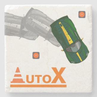 AUTOX-Green Stone Coaster