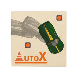 AuTOX-Green Wood Wall Decor