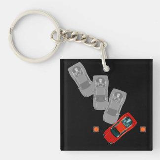 AUTOX-Red Keychain