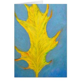 Autum Leaf Card