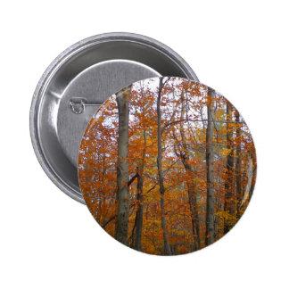 Autumn 2 Inch Round Button