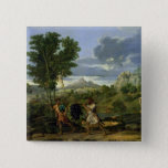 Autumn 2 Inch Square Button