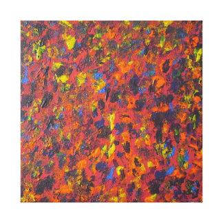 Autumn Abstract Acrylic Modern Art Canvas Print