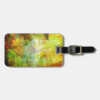 Autumn Abstract Tag For Luggage