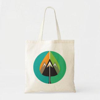 autumn adventures budget tote bag
