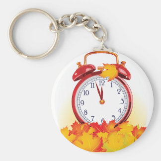 Autumn Alarm Clock Keychain