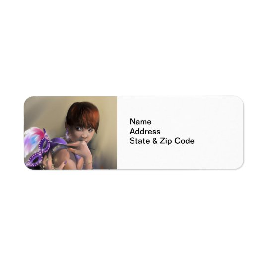Autumn Allure Return Address Labels