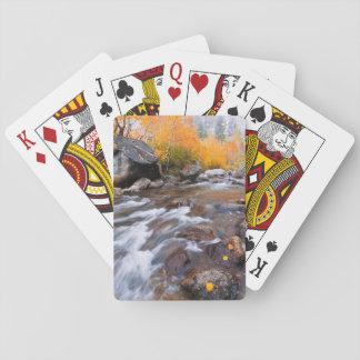 Autumn along Bishop Creek, CA Playing Cards