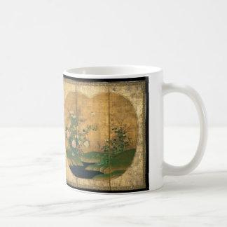 Autumn and Winter Flowers and Birds Coffee Mug