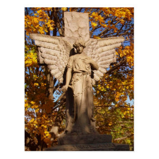 Autumn Angel Postcard