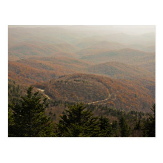 Autumn Appalachian Postcard