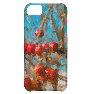 Autumn Apple Tree Painting iPhone 5C Cover