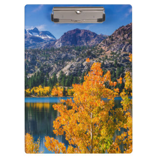 Autumn around June Lake, California Clipboard