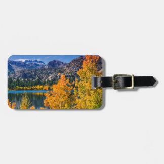 Autumn around June Lake, California Luggage Tag