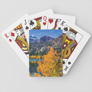 Autumn around June Lake, California Poker Deck