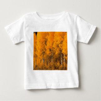 Autumn Aspen Trees Montana Baby T-Shirt
