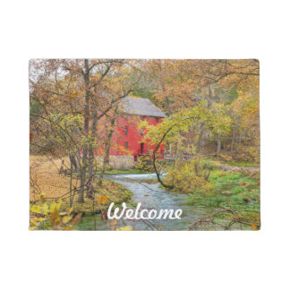 Autumn At Alley Mill Doormat