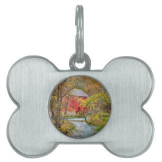 Autumn At Alley Mill Pet Tag
