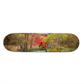 Autumn At Alley Mill Skate Boards