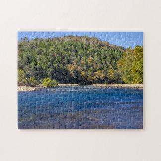 Autumn At North Fork Jigsaw Puzzle