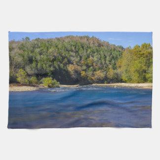 Autumn At North Fork Kitchen Towel