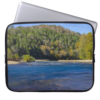 Autumn At North Fork Laptop Sleeve