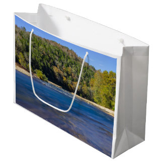 Autumn At North Fork Large Gift Bag