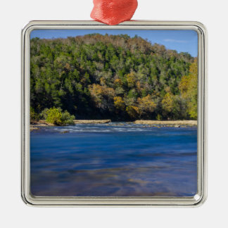 Autumn At North Fork Metal Ornament