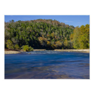 Autumn At North Fork Poster