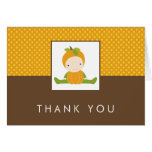 Autumn Baby Shower Thank You Cards