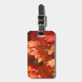 Autumn Bag Tag