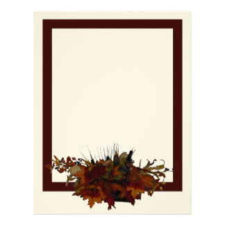 Autumn Basket Stationery