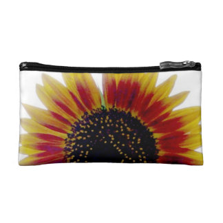 Autumn Beauty Sunflower Sunset Cosmetic Bags