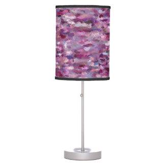 Autumn Berries Paint Splashes 9887 Table Lamp