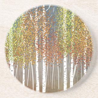 Autumn Beverage Coaster