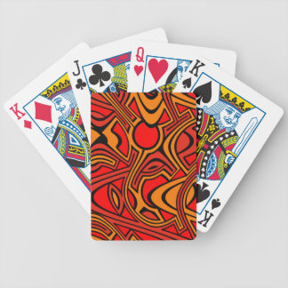 Autumn Bicycle Playing Cards