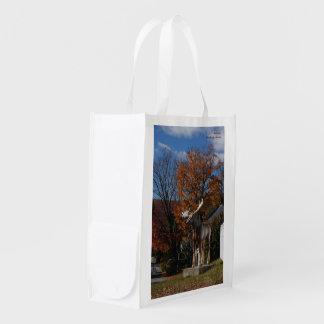 Autumn, Bingham ME Reusable Grocery Bag