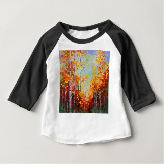 Autumn birches baby T-Shirt