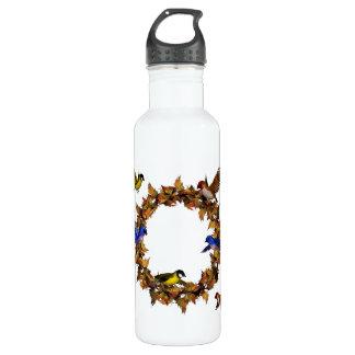 Autumn Birds 710 Ml Water Bottle