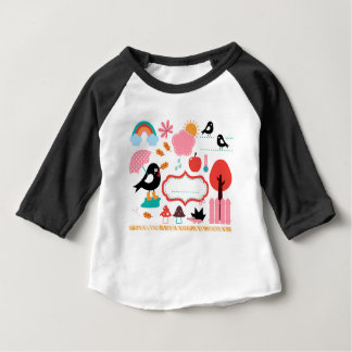 AUTUMN BIRDS BIG KIDS COLLECTION BABY T-Shirt