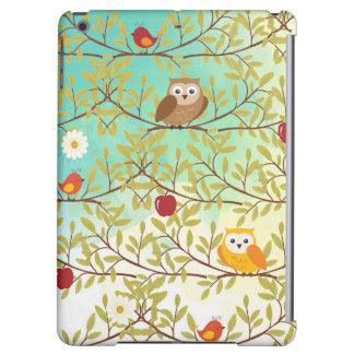 Autumn birds case for iPad air