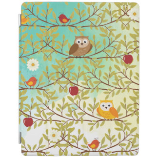 Autumn birds iPad cover
