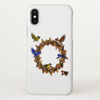 Autumn Birds iPhone X Case
