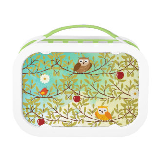 Autumn birds lunch box